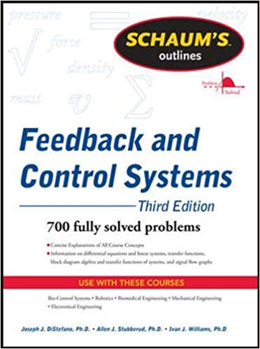 Schaums Outline of Feedback and Control Systems, 2nd Edition Schaums Outline Series: Amazon.es: Distefano, Joseph, Stubberud, Allen, Williams, Ivan: Libros en idiomas extranjeros