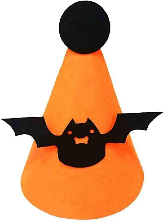KLJAI Calabaza de Halloween Sombrero Murciélago Bruja Calavera ...