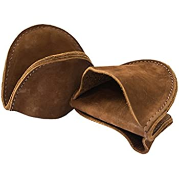 Hide & Drink Leather Pot Holder Mini Oven Mitt Oven Cooking Pinch Grips (2-Pack) Handmade Swayze Suede