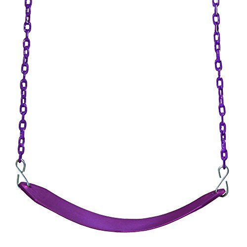 Gorillaplaysets Deluxe Swing Plum Belt And Chain
