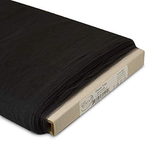 25-Yard Bolt White Expo International 54-Inch Classic Nylon Tulle Fabric