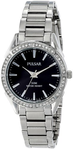 Pulsar Women's PH8019X Analog Display Japanese Quartz Silver Watch