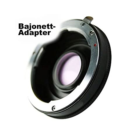 SIOCORE - Adaptador de Bayoneta de Objetivo Pentax K a Bayoneta ...