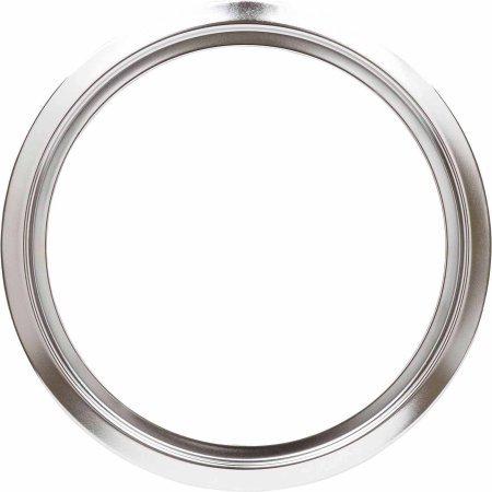 GE Genuine Stove & Range Renewal Part - Chrome Drip Pan Ring (6 Inch)