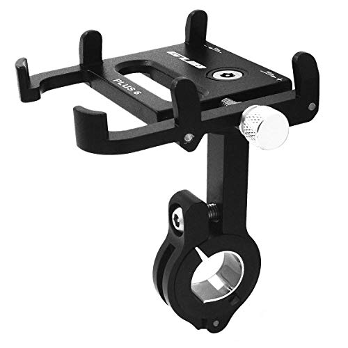 Dasbony GUB Mountian Bike Phone Mount - Aluminum Alloy Universal Adjustable Bike Mount Cell Phone GPS Mount Holder Rotating Cradle Clamp for Bicycle Motorbike,iPhone Samsung Android All Smartphones ()