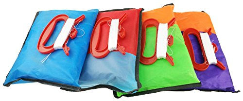 Set Of 4 Large 157.5 High Cartoon Big Round Eyes Octopus Kites With Colorful Ribbon and Kite Board With 98.4 Foot String For Kids Toy Enjoy Parent-child Time Beach Park Outdoor