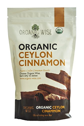 Organic Wise Ceylon Cinnamon Ground Powder, 1 lb-From a USDA Certified Organic Farm and Packed In The USA by Organic Wise (Image #1)