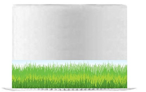 Edible Grass (CakeSupplyShop Item#24062 GReen Grass Edible Cake Decoration Tall Ribbons -3Strips)