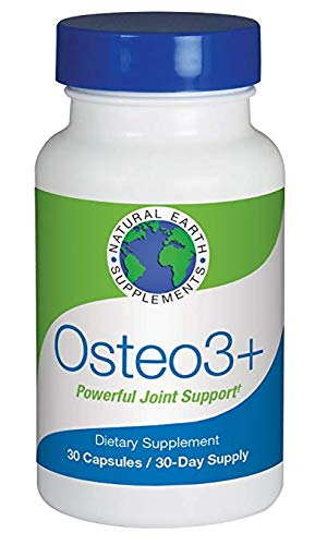 Osteo3+ All-natural dietary supplement joint formula targets joint discomfort| supports your joint tissues to help promote flexibility and mobility and provide cushioning. 30 Day Supply.