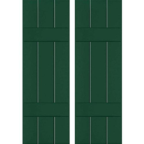 Ekena Millwork RWB12X033CGP Exterior Three Board