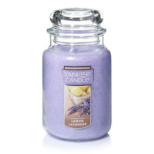 Yankee Candle Large Jar Candle,Lemon Lavender