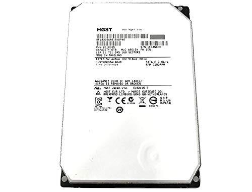 HGST HGST Ultrastar He6 6TB 3.5'' SATA 7200 RPM Enterprise Internal Hard Drive with 64Mb Cache - HUS726060ALA640/0F18335 64 MB Cache 3.5-Inch Internal Bare or OEM Drives 0F18335 (Certified Refurbished) by HGST (Image #1)