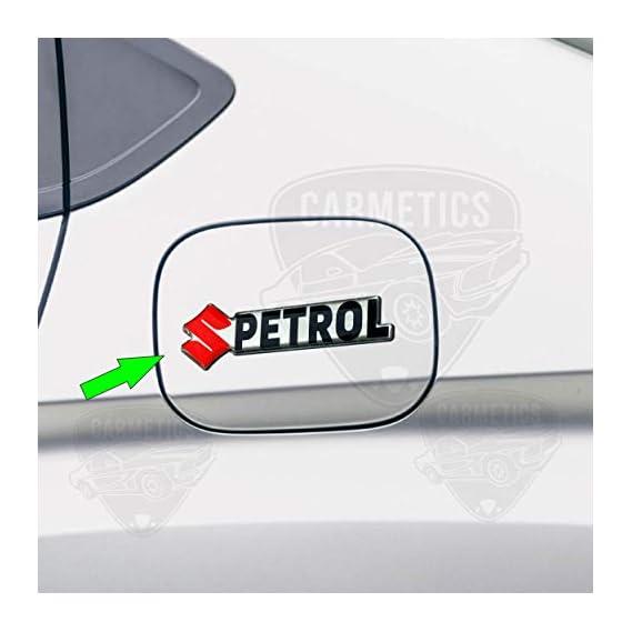 CarMetics Dzire 3D Letters (3D Stickers 3D Logo 3D Emblem for Maruti Suzuki Dzire Accessories)