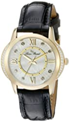 Lucien Piccard Watches Dalida Leather Band Watch