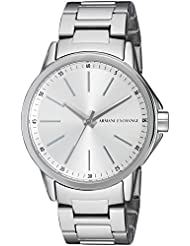 Armani Exchange Womens AX4345 Silver Watch