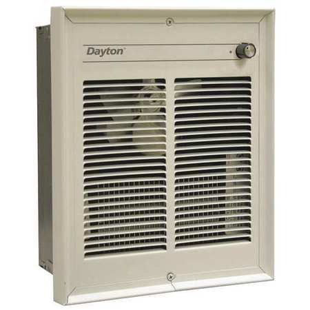 Dayton 3ENC8 Electric Heater, 208V, 1Phase, 2000W, Bronze
