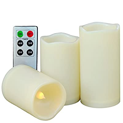 Weatherproof Flameless Candles