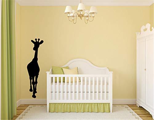 Wall Sticker Family DIY Decor Art Stickers Home Decor Wall Art Giraffe for Nursery Kids Room Living Room Bedroom