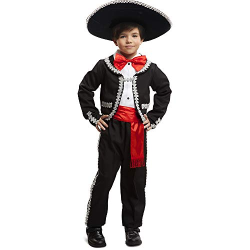 Dress Up America Mexican Boy Costume - Jacket, Pants, Bow-tie and Sash - Shirt
