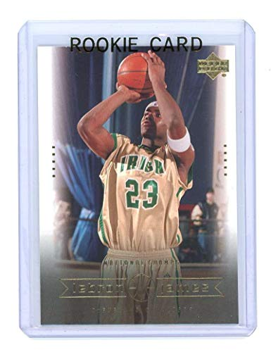 Upper Deck 2003 Mint - 2003 Upper Deck #5 National Champs Lebron James Rookie Card - Mint Condition Ships in a Brand New Holder