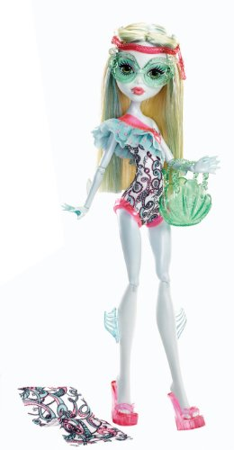 Monster High Beach Beasties Lagoona Blue Doll (Monster High Dolls Basic Travel)