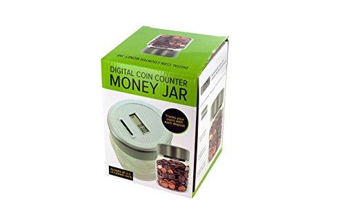 Kole Audio Digital Coin Counter Money Jar