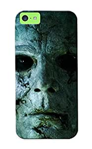 Hot Mvyoxf-173-zhwmqdi Case Cover Protector For Iphone 5c- Name Movie Halloween Retribution Zombie Face / Special Gift For Lovers