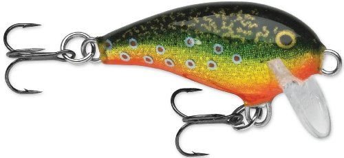 Rapala Mini Fat Rap 03 Fishing lure, 1.5-Inch, Brook Trout