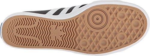 Adidas Originali Mens Matchcourt Rx Scarpe Core Nero / Calzature Bianco / Grigio Scuro Heather Grigio Solido