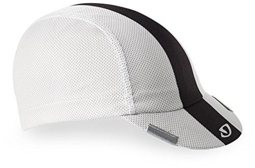 Giro Peloton Cycling Cap - White/Black/Grey