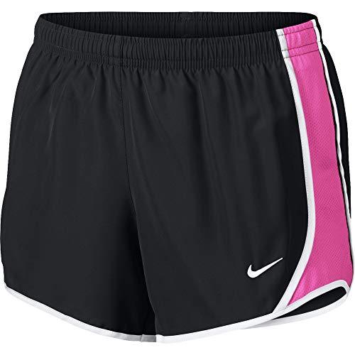 Nike Girl's Dry Tempo Running Short Black/Laser Fuchsia/White Size Medium ()