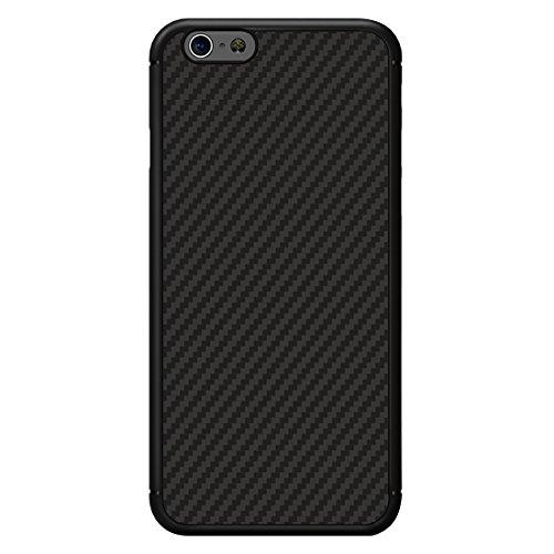 iPhone Case Cover NILLKIN pour iPhone 6 Plus & 6s Plus Léger Texture Artisanale en Fibre de Carbone PP Housse de Protection Housse de Retour avec Feuille de Fer Retour cachée