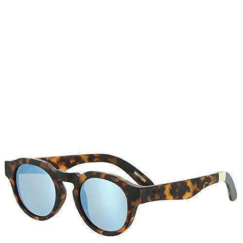 TOMS Unisex Bryton Matte Blonde Tortoise One - Sunglasses Womens Blonde