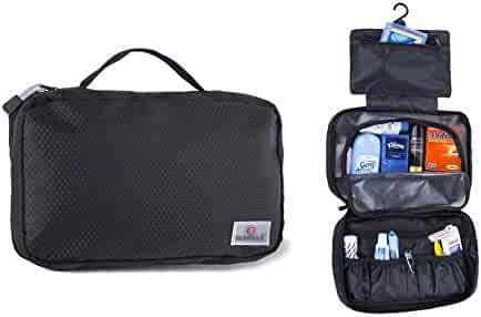 Hanging Toiletry Bag Travel Cosmetic Bag Toiletry Organizer Kit for Men and Women