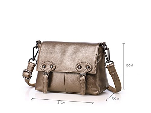 Handbags Diagonal Bag New Leather Layer Leather Package Handmade First Messenger Shoulder Purple UxHwF5nHq
