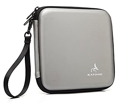 KAYOND® Portable Hard Carrying Travel Storage Case for External USB, DVD, CD, Blu-ray Rewriter / Writer and Optical Drives