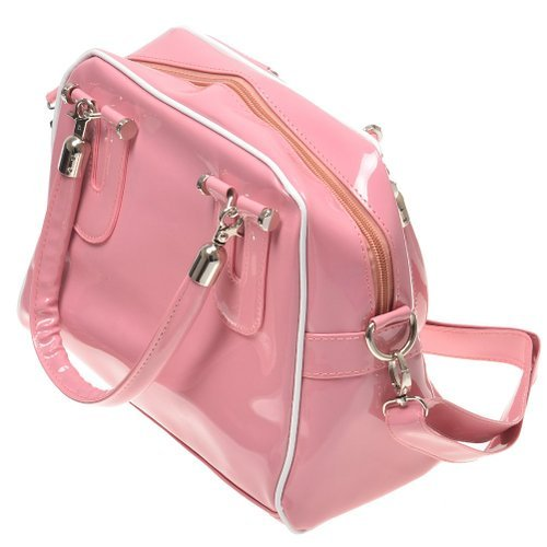 Phenas Taobao Tmall JD Asia Size New Arrival Hot Selling Pink Fashion Girl Lady Simple Style Pu Leather Clutch Shoulder Handbag Bag Cross Body Satchel Messenger Bag