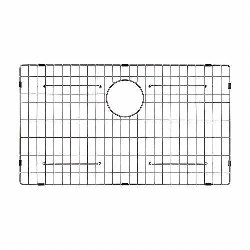 "Kraus KBG-200-33 Bottom Grid 29 11/16"" x 15 11/16"" x 1 3/8"" Stainless Steel"