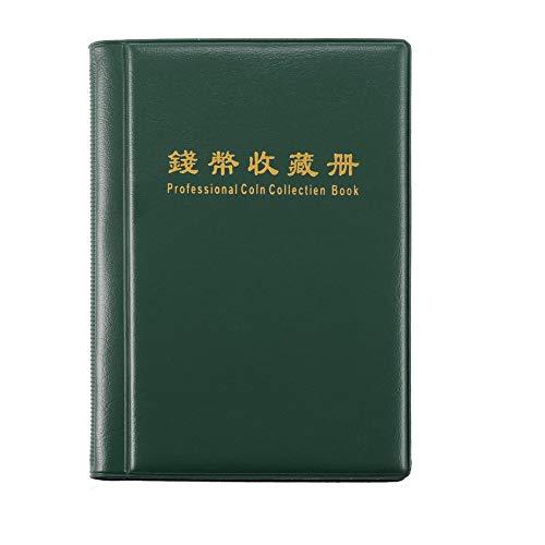Professionale collezione di monete libro portatile 120 portamonete Scrapbooking album soldi penny stoccaggio tasche Nowakk