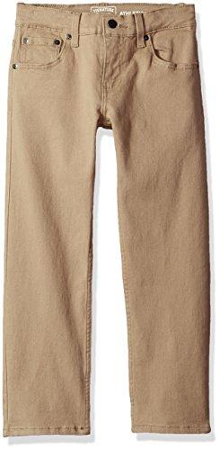 Signature by Levi Strauss & Co. Gold Label Big Boys' Athletic Fit Jeans, Empire Khaki, 10 Boys Khakis