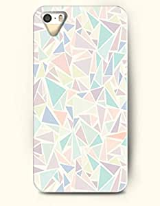 OOFIT Phone Skin Apple iPhone case for iPhone 5 5s ( 5C EXCLUDED ) -- Retro Geometry Triangle Pattern