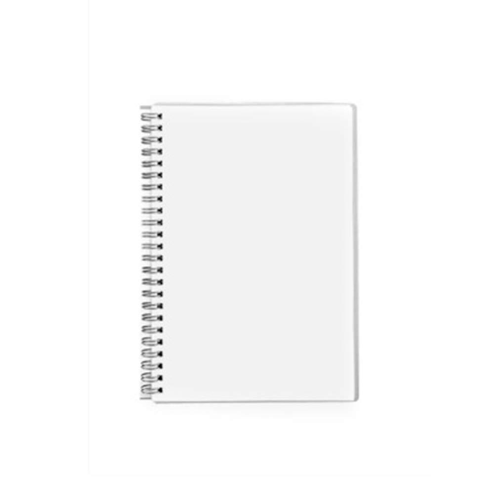 MOBRAVO Conf/érencier A5 Cuir avec Bloc Notes Amovibles Pochette T/él/éphone /à /Écran Tactile Porte Document Agenda Stylo Carte Bleu Fonc/é