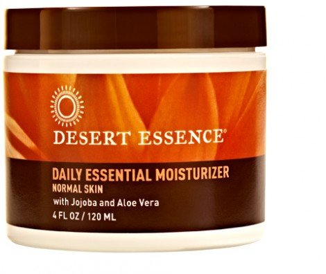 Moisturizer-Daily Essential Jojoba/Aloe Desert Essence 4 oz Cream
