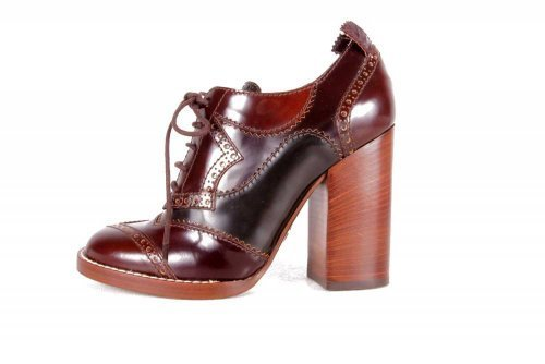 Dolce & Gabbana D&G Zapatos mujer Scavigliata Vernice Talla 37,5 NUEVO 460 C08121 Marrón