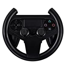 Hokyzam W46 PS4 Gaming Racing Steering Wheel Gamepad Joypad Grip Controller for PS4