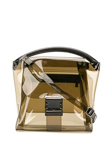ZUCCA ZU97AG17424 Women's Brown Plastic Handbag