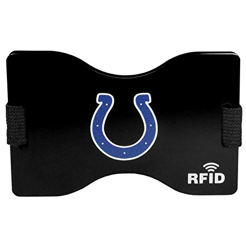 (NFL Indianapolis Colts RFID Wallet, One Size, Black.)