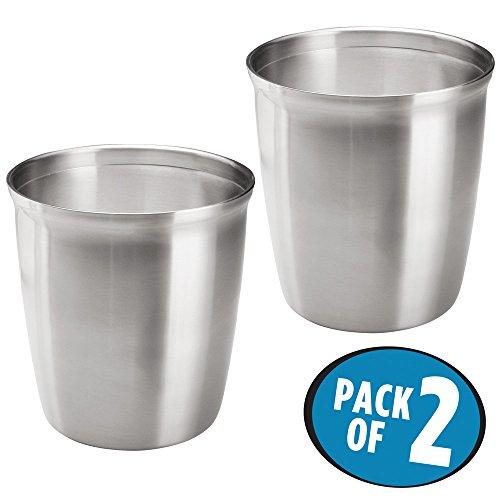 Stainless Steel Waste Paper Basket - 6