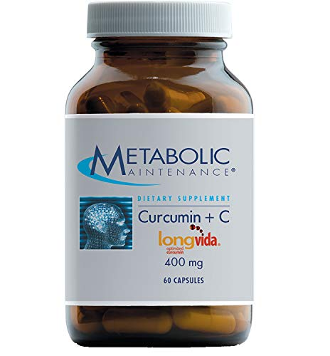Metabolic Maintenance Curcumin + C (Longvida) – 400 mg Higher Absorption Without Black Pepper (60 Capsules) Review