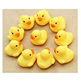 callm 12pcs Rubber Duck Ducky Duckie Baby Shower